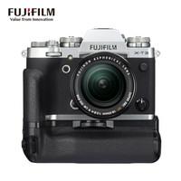 FUJIFILM 富士 XT3 数码相机 (银色、18-55mm、F2.8-4 、2610万像素、APS-C画幅)