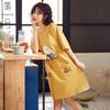 萌号休闲睡裙纯棉短袖中长款韩版 39元(需用券)