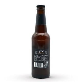 比尔兄弟无所畏酵母小麦国产精酿白啤酒330毫升*6瓶装
