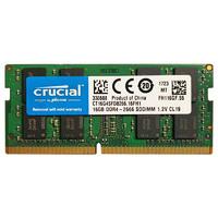 crucial 英睿达 16GB DDR4 2400 ?#22987;?#26412;内存条