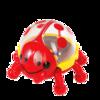 仙霸婴儿玩具瓢虫摇铃新生儿0-3-6-12个月宝宝玩具0-1岁益智牙胶 9.9元