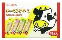 日本扇屋 DHA鳕鱼奶酪芝士条 48条
