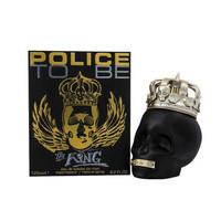 复活节促销:POLICE 警察 TO BE THE KING 黑色骷髅头男士香水 125ml