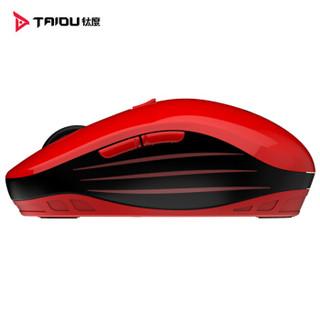 钛度 TWG-100 无线光学鼠标 红色