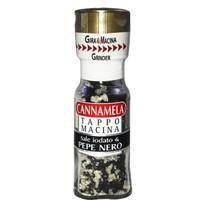 cannamela 卡纳梅拉 黑胡椒混合海盐调味料 (研磨瓶装、35g )