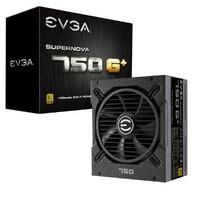 EVGA SuperNOVA 750G+ 750W电源 (80PLUS金牌/全模组/10年质保)