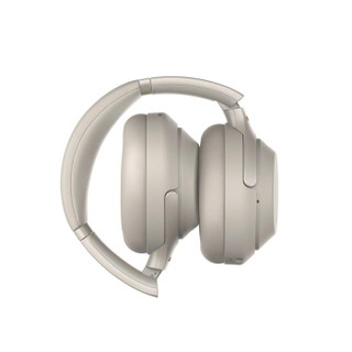 SONY 索尼 WH-1000XM3 头戴式耳机 铂金银