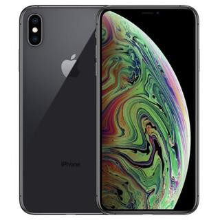 Apple 苹果 iPhone XS Max 全网通4G手机 双卡双待 深空灰色 64GB