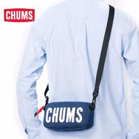 CHUMS 洽洽鸟 美国户外潮牌 时尚便携LOGO单肩包 (CH60-2523yx、20升以下、灰色)