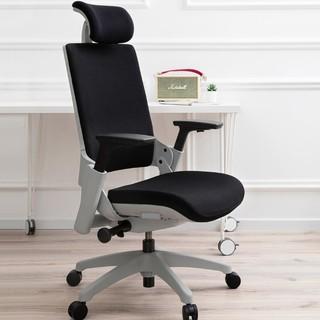 UE 为你撑腰 人体工学椅  黑框灰布