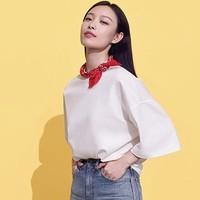 女装 宽松T恤(五分袖) 415797 优衣库UNIQLO