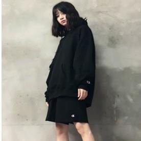 Champion 经典 美版 男女秋情侣帽衫