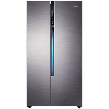 Haier 海尔 探鲜家系列 BCD-520WDPD 变频对开门冰箱 520L 深空灰