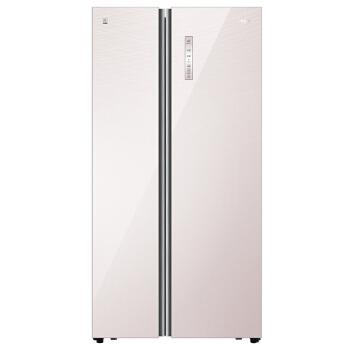 Haier 海尔 BCD-651WDEC 风冷无霜静音对开门冰箱 (晶典珠光色、600升、2级、变频)