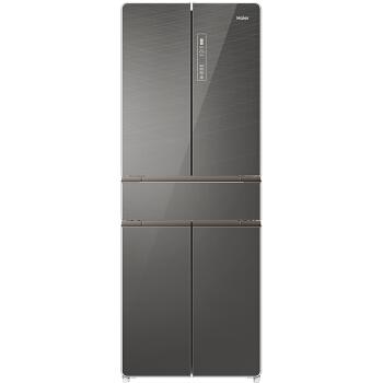 Haier 海尔 BCD-418WDEU 风冷无霜多门冰箱 (黑色、481升、2级、变频)