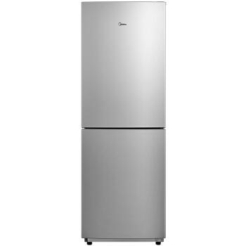 Midea 美的 BCD-195M(ZG) 节能静音 双门冰箱 ( 浅灰、195升、3级、定频)