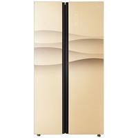 Midea 美的 BCD-545WKGM 风冷无霜对开门冰箱 (金色、545升、2级、定频)