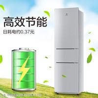Electrolux 伊莱克斯 EMM2190TA 节能省电 多门冰箱 (银色、218升、3级、定频)