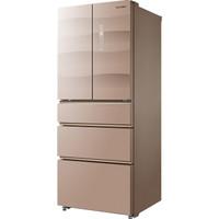 Midea 美的 BCD-416WGPZV 智能双变频 多门冰箱 (金色、416L、1级、变频)