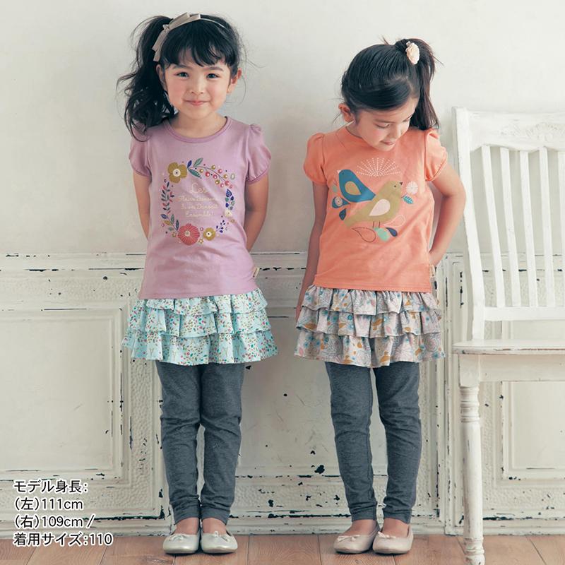 春秋SENSHUKAI千趣会  女童泡泡袖短袖T恤6个月-7岁 *3件