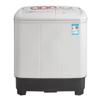 LittleSwan 小天鹅 TP80VDS08 双缸双桶洗衣机 (8kg、灰色)