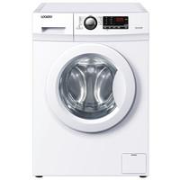 统帅(Leader)海尔7公斤变频全自动滚筒洗衣机 15分钟速洗 防霉窗垫@G7012B16W