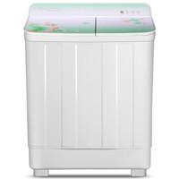 Frestec 新飞 XPB100-1606GD 半自动双缸波轮洗衣机 (白色、10kg)