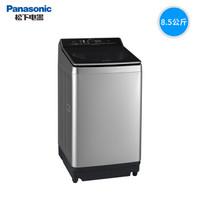 Panasonic 松下 爱捷净 XQB85-U862H 全自动直驱变频波轮洗衣机 (银色、8.5kg)