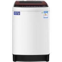 WEILI 威力 XQB80-8029A 银离子波轮 自判水位 贴心童锁 波轮全自动洗衣机 (白色、8KG)
