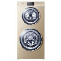 卡萨帝(Casarte)12公斤 双子云裳滚筒洗衣机全自动 直驱变频 C8 U12G3