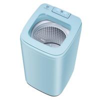 Haier 海尔 金刚芯 XQB50-B178 全自动波轮迷你洗衣机 (5kg、蓝色)