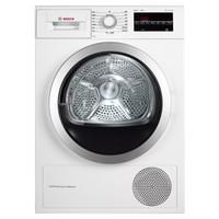 BOSCH 博世 serie4进口干衣机 WTW875600W 全自动干衣机 (9KG、白色)