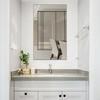 品绮 浴室镜子 直角 30*42cm 送免钉胶+粘胶