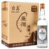 台岛(taidao) 台湾高粱酒 高度白酒 金门58度600ML 礼品酒 家常酒 600ML*6瓶/ 白酒整箱 99元