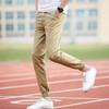BAOXIANSHEN 男士春季韩版潮流新款休闲九分裤修身小脚运动裤哈伦裤 49元