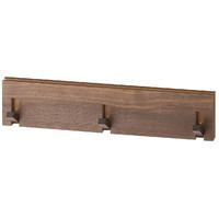 MUJI 无印良品  B5A6052 壁挂式家具 (3连衣架、胡桃木)