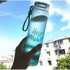 夏季个性简约磨砂杯子女学生韩版创意潮流水杯清新男士玻璃随手杯 硕士杯(蓝色) 9.8元(需用券)