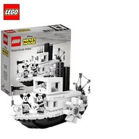 LEGO 乐高 21317 米奇 威利号蒸汽船