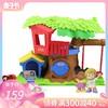 费雪fisher price婴幼早教益智分享小树屋FKW84 儿童音乐双语玩具 159元