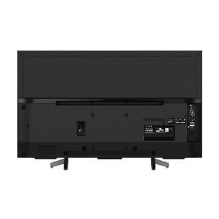 SONY 索尼 KD-49X8000G 安卓智能液晶电视 (黑色、49英寸、4K超高清(3840*2160))
