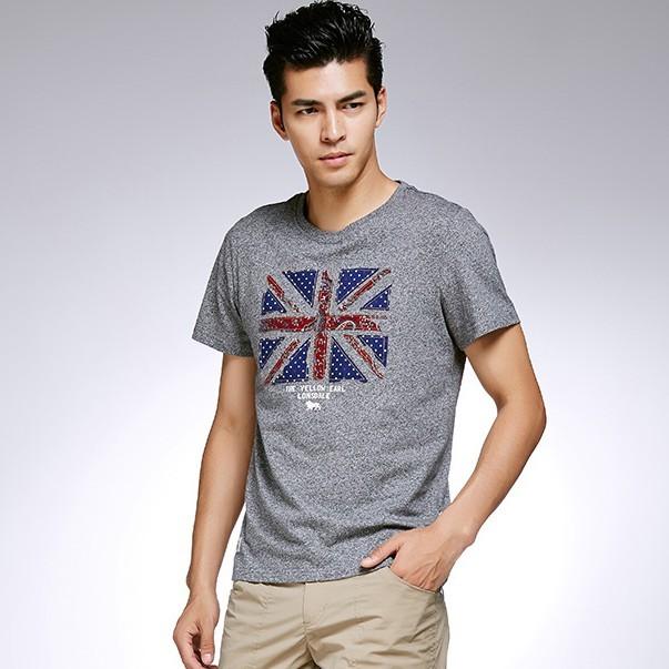 LONSDALE 龙狮戴尔 115209290 男士圆领短袖T恤