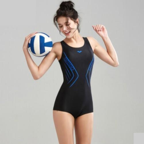 arena 阿瑞娜 9157BKWT 女士竞技泳衣