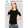 UR2018夏季新品女装修身显瘦圆领短袖休闲T恤WB10B4EN2006 39元