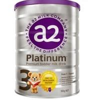 a2 艾尔 Platinum 白金版 婴幼儿奶粉 3段 900g *2件