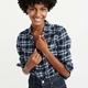 Abercrombie & Fitch 221827-1 女装法兰绒衬衫
