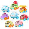 快乐工程车队儿童惯性车玩具模型汽车 耐摔卡通环保 惯性卡通车(八只装) 39元(需用券)