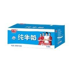 光明 纯牛奶 250mL*24盒(需88vip) *4件