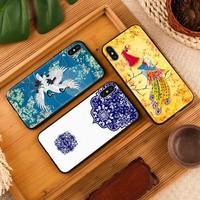 KingPos iPhone/vivo/OPPO/华为/小米 中国风手机软壳 *2件