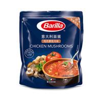 百味来Barilla 鸡肉蘑菇风味意大利面酱 250克 袋装