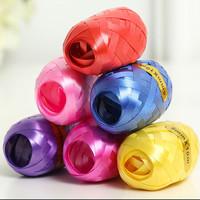 青苇 气球丝带彩带彩色雨丝 装饰配件 彩色12卷装 *3件